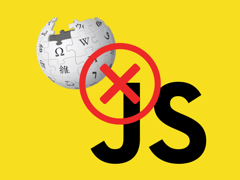 Even Wikipedia thinks JavaScript sucks. Here's why.